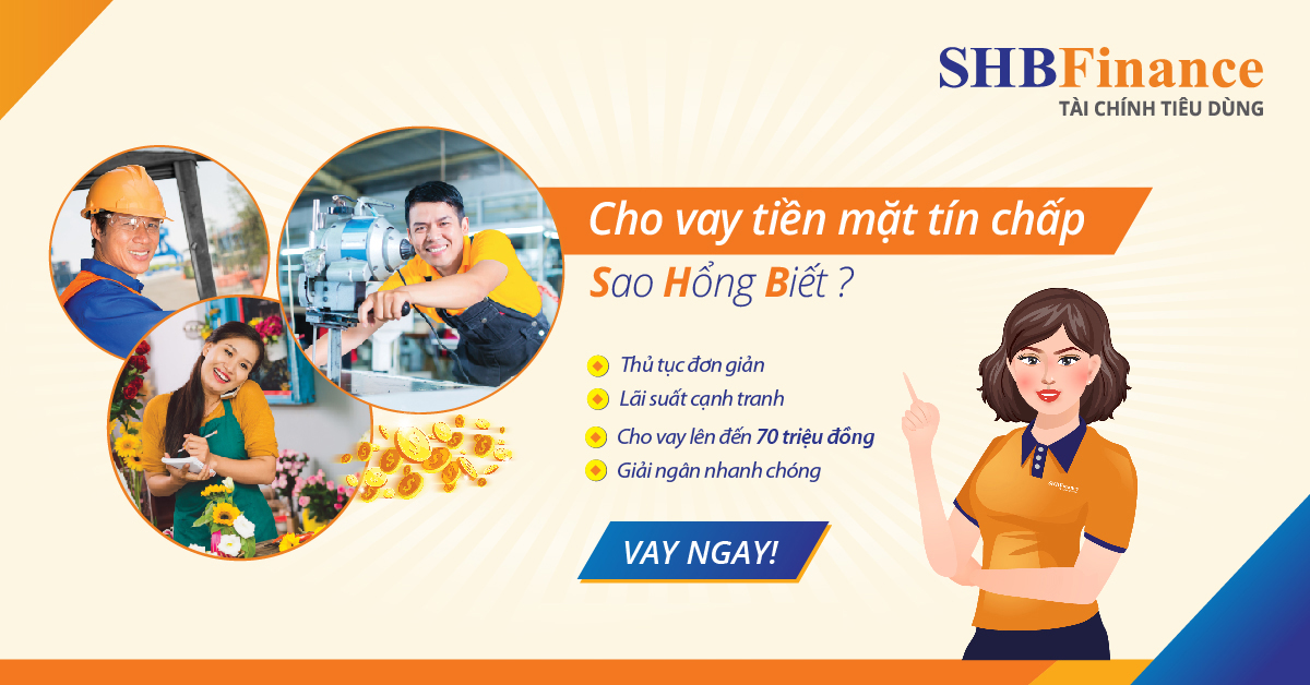 SHB Finance – Hỗ Trợ Tài Chính Tiêu Dùng Cho Mọi Người 2020