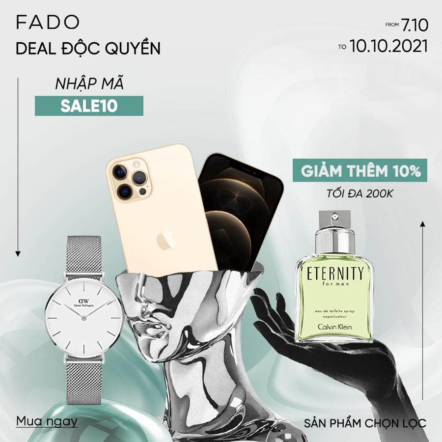 [FADO] Khuyến mãi – mã giảm giá – săn deal hot cùng FADO